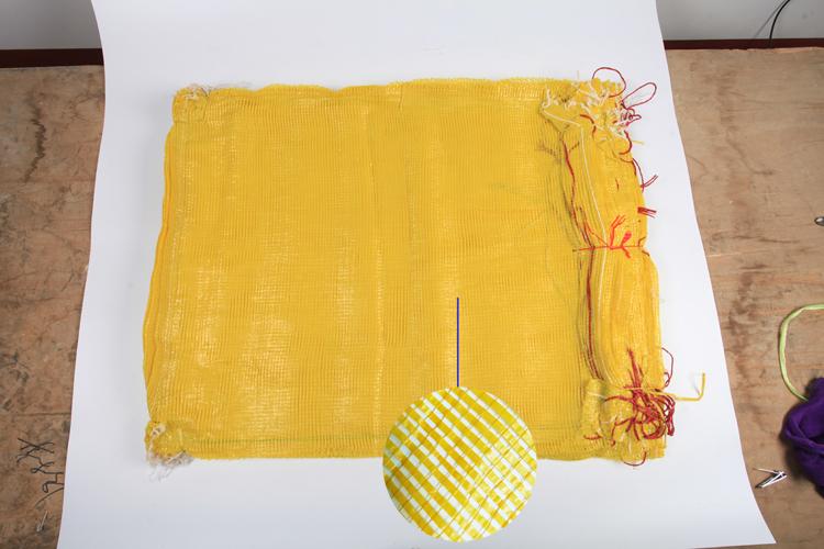 黄色圆扁丝